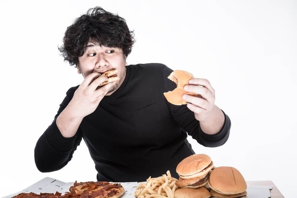 食生活が乱れている人