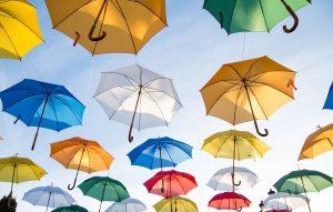 カラフル傘