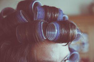 ペタンコ髪